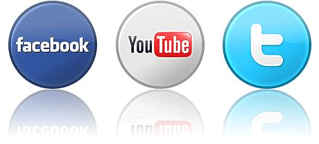 Facebook, Youtube and Twitter Marketing